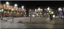 NS4864 : County Square at night by Thomas Nugent