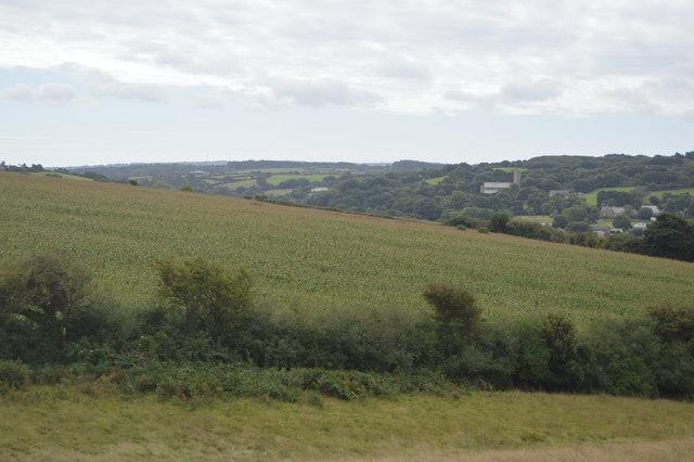 Cornish farmland