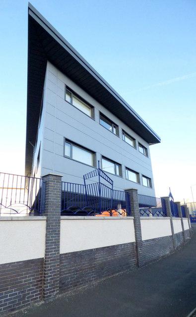 New office building at Ferguson Marine shipyard
