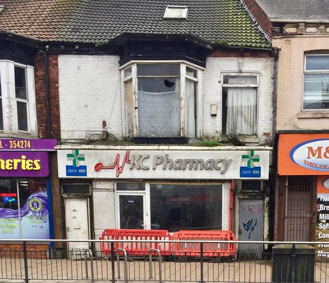 Former pharmacy, Hull