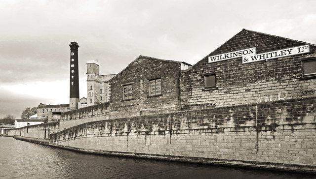Back Wall of Wilkinson & Whitley's