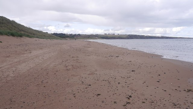Beach, Lunan Bay
