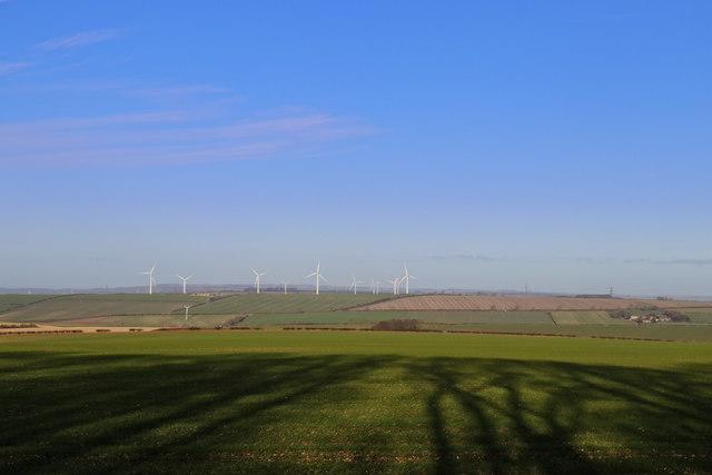 Sober Hill Wind Turbines