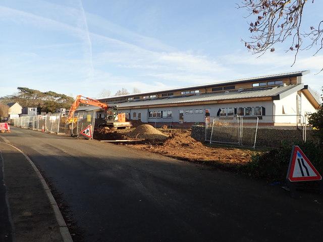New school at Llanfair D C