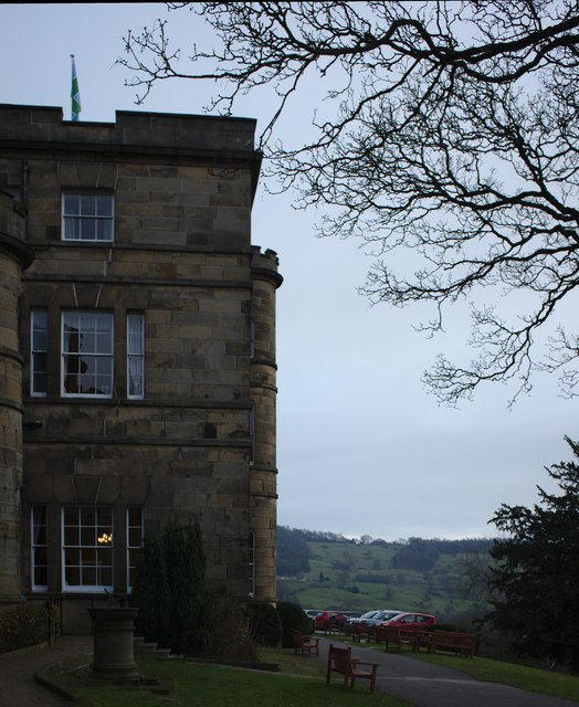 Willersley Castle Hotel and Park