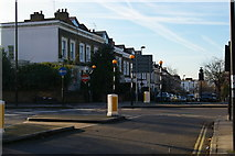 TQ2985 : Looking into Leighton Road from Hilldrop Crescent by Christopher Hilton