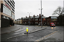 NS3321 : Roundabout, Ayr by Billy McCrorie