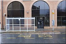 NS3321 : Bus Stop & Shelter at Carrick Street, Ayr by Billy McCrorie