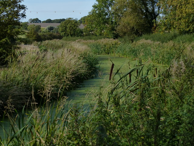 Disused Grantham Canal in Kinoulton