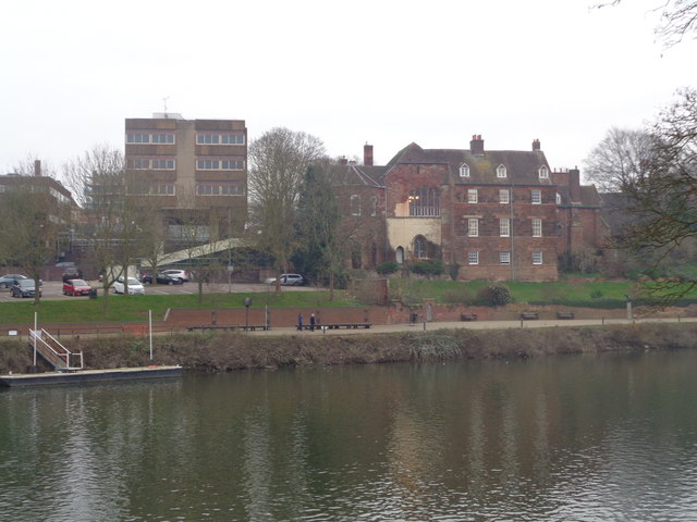 College and The Old Bishop's Palace, Worcester