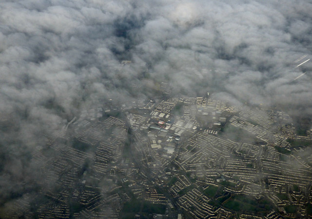 Finglas from the air