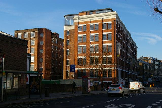 Converted industrial premises on Highgate Road