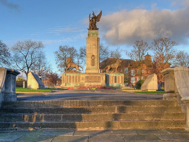 The War Memorial, Ashton-Under-Lyne