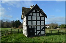 SO3955 : Luntley Court Dovecote by Philip Pankhurst