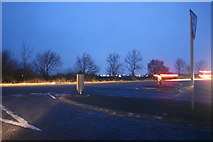 TL2976 : Junction on the A141, Old Hurst by David Howard