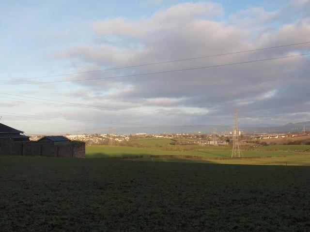 Thorntonhall farmland