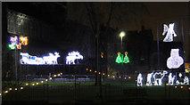NS4863 : Paisley Christmas lights by Thomas Nugent