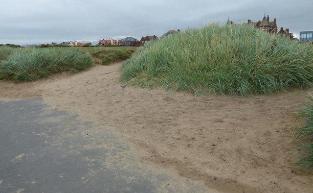 Coastal path at Troon