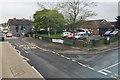 SX8673 : Kingsteignton Health Centre and bus stop, Gestridge Road, Kingsteignton by Robin Stott