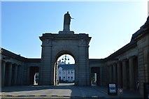 SX4653 : Royal William Yard - main gate by N Chadwick