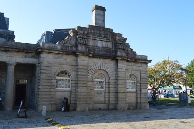 Royal William Yard - police building
