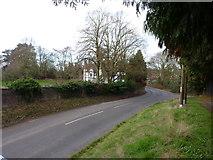 SO9568 : Sugarbrook Lane near Sugarbrook Manor by Jeff Gogarty