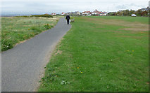 NS3232 : Cycle path at Barassie by Thomas Nugent
