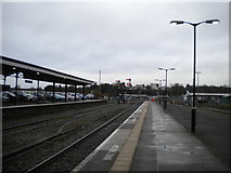 SO8555 : North end of Worcester Shrub Hill station by Richard Vince