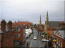 SO8555 : Sansome Walk, Worcester by Richard Vince