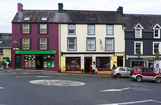 Post Office and Maison Gourmet, Henry Street, Kenmare, Co. Kerry