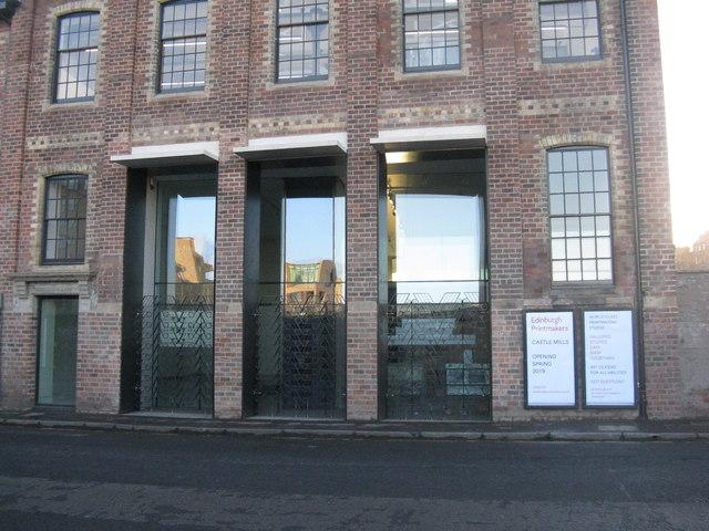 475b430fced8b4 Edinburgh Printmakers, Castle Mills © M J Richardson cc-by-sa/2.0 ...