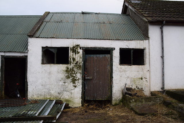 Old farm shed, Mullaghslin Glebe
