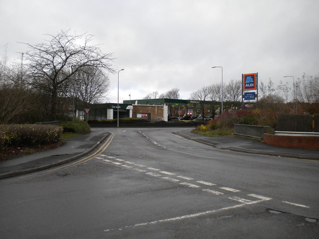 West end of Sherwood Road, Aston Fields business park