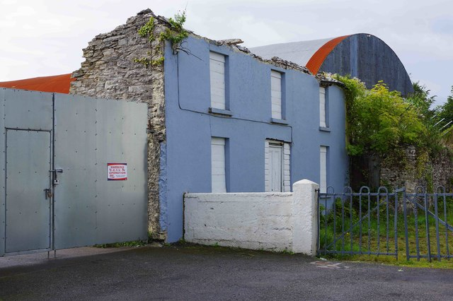 Derelict building at end of New Road, Kenmare, Co. Kerry