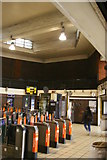 TQ3190 : Wood Green underground station: entrance hall by Christopher Hilton