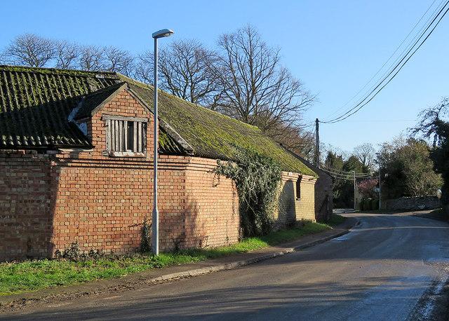 Harlton: winter sunlight