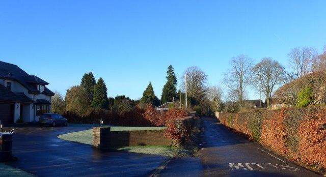 Cemetery Road, Galston