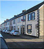 ST1587 : Long row of houses, Lawrence Street, Caerphilly by Jaggery