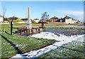 NZ3336 : War memorial at Kelloe by Trevor Littlewood
