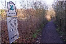 TQ4468 : A Petts Wood Path by Glyn Baker