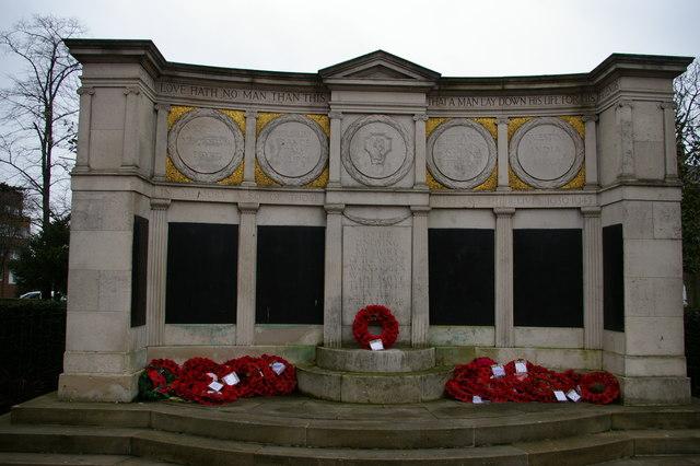 Wood Green war memorial