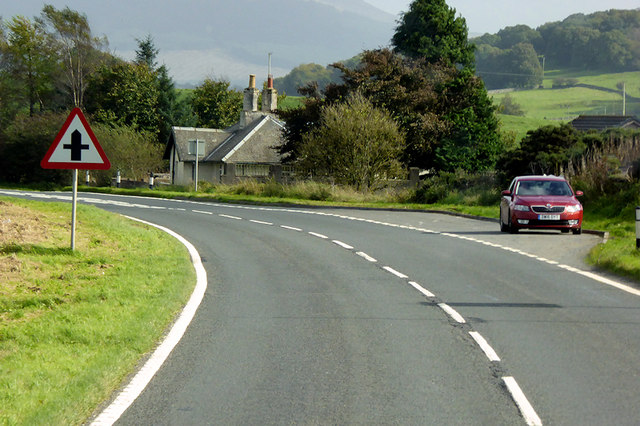A75 near Knockbrex Toll