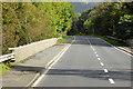 NX4164 : A75 crossing the River Cree at Newton Stewart by David Dixon
