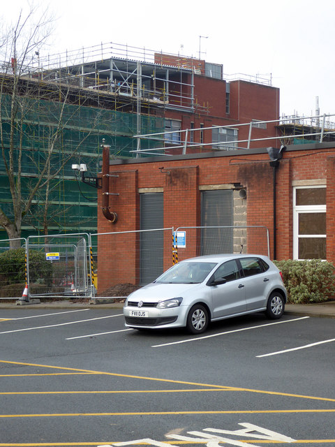 Royal Worcestershire Hospital - infrastructure work