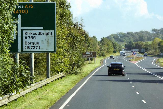 Eastbound A75