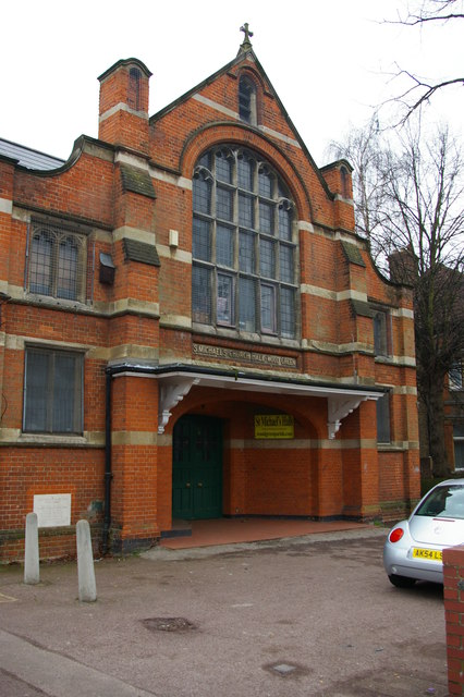 Wood Green: St Michael's church hall