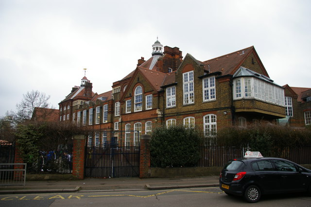 Wood Green: Trinity Primary Academy, Bounds Green Road