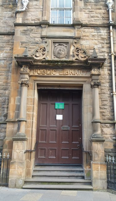 Entrance to Stirling Central Library