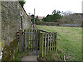 NZ8909 : Wicket gate on the Esk Valley Way by Stephen Craven
