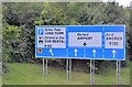 O1843 : Signpost leaving the M1, Dublin Airport by N Chadwick